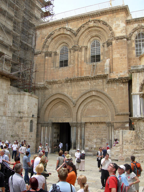 Church of the Holy Sepulchre in the Old City