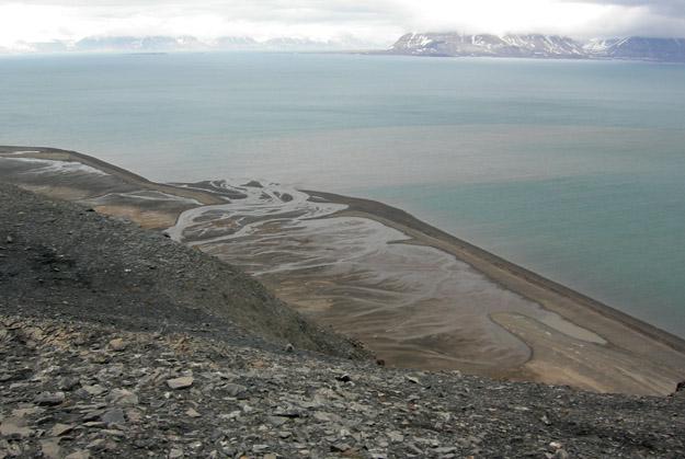 De Geerdalen Delta, Svalbard.