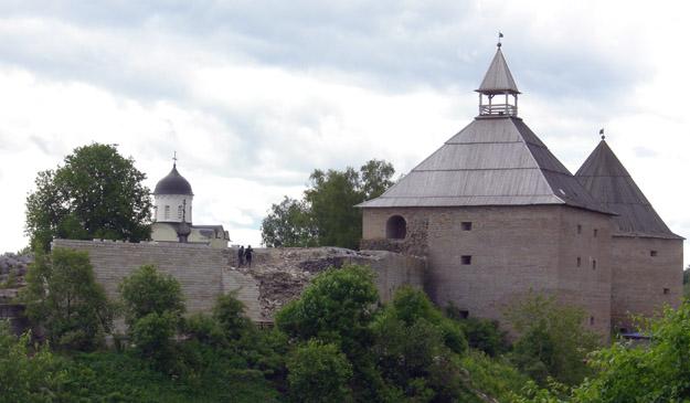 Ladoga Fortress.