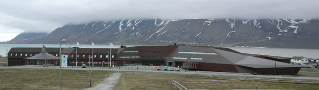 University of Norway research station (UNIS) in Longyearbyen.