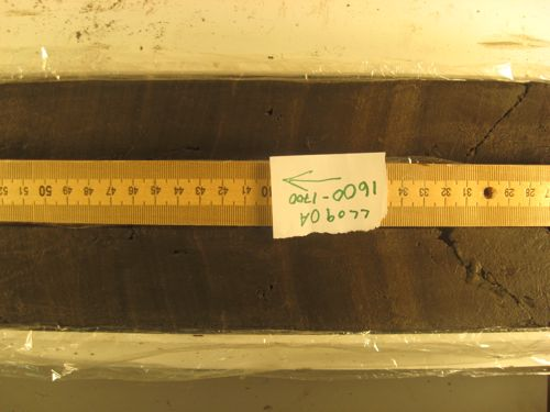 These laminated sediments represent the glacial-interglacial transition, which includes the glacial-Bolling-Allerod and Younger Dryas-Holocene transitions.