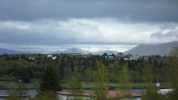 The view looking east across Kopavogur. Photo Credit: Alex Hiatt