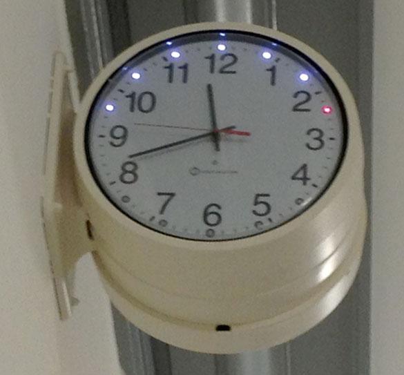 Capitol Hill clock lights