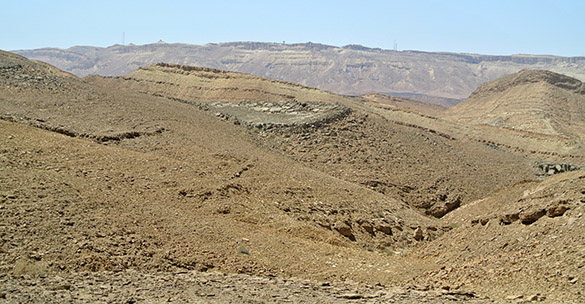 Mitzpe Ramon distant view 040814