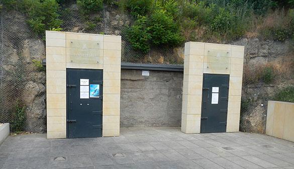 Entrance bunker 062014