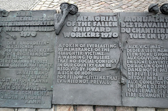 Fallen shipyard workers memorial 061414