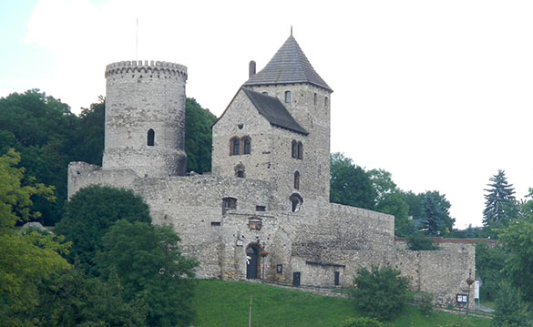 Hotel area Będzin Castle 061614