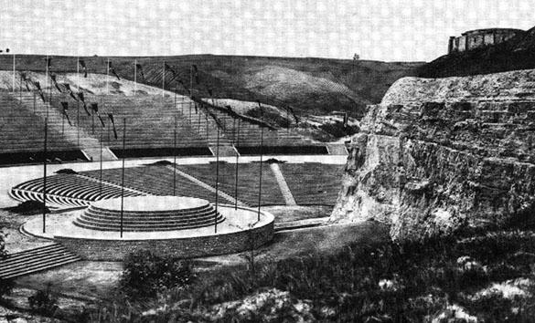 Nazi Amphiteater old image