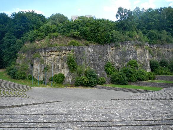 Nazi amphitheater front 061814