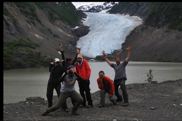 Photo Credit: Ben E. British Columbia field excursion summer 2014, we made it (more or less) in one piece.