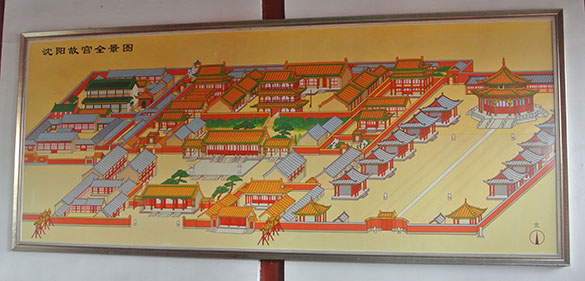 Shenyang Palace map 070314