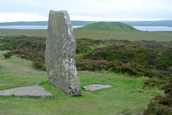 1 Brodgar Ring Stone and Mound