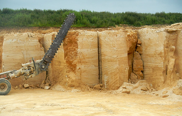 1 Doulting quarry saw