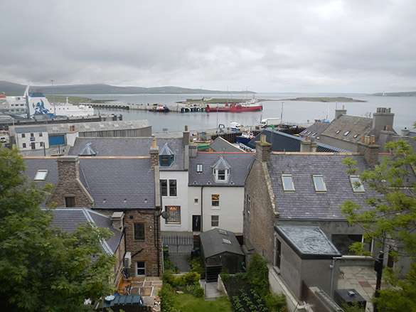 10 Stromness from hotel window