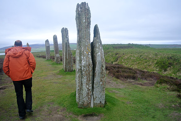 2 Ring of Brodgar weathering