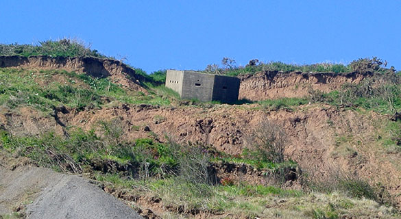 2 Slumped Speeton Pillbox 060715