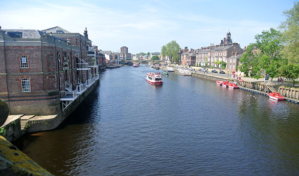 3 River Ouse in York from Skeldergate Bridge 585