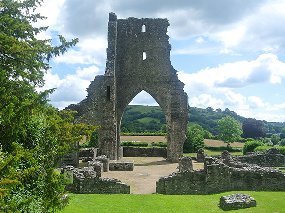 4 Talley Abbey ruins