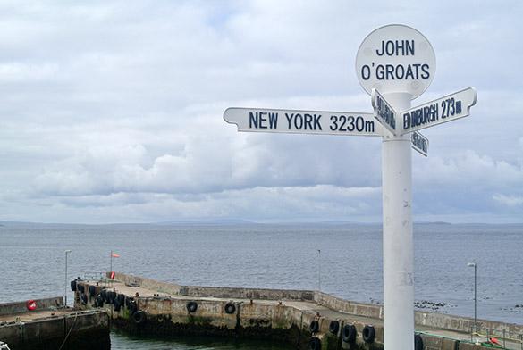 7 John OGroats sign