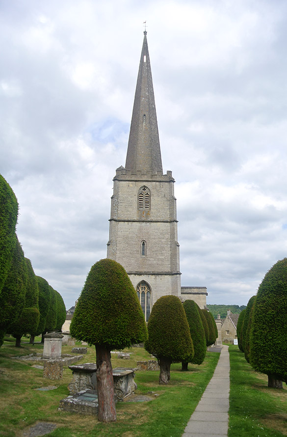 7 Painswick church and yews