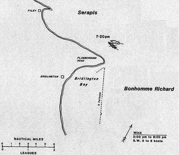 Battle map Flamborough