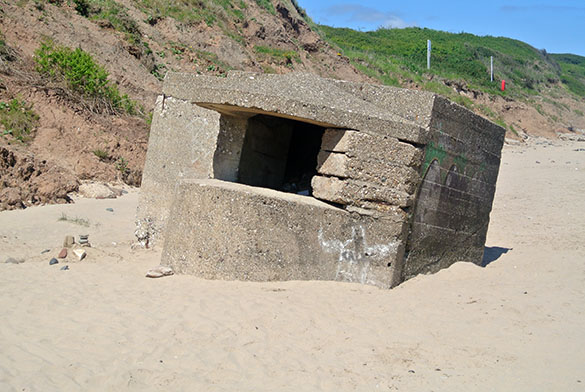 Beached pillbox 061015