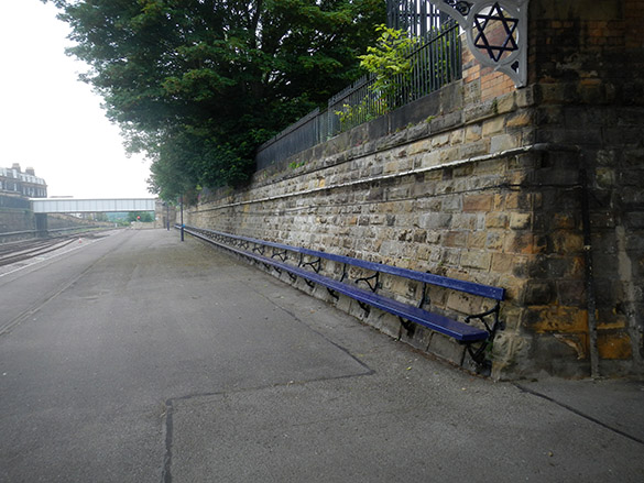 Scarborough bench