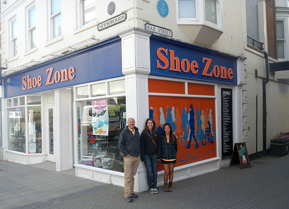 a Shoe Zone Smith