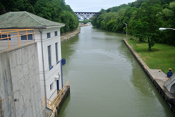 5 Erie Canal at Lockport