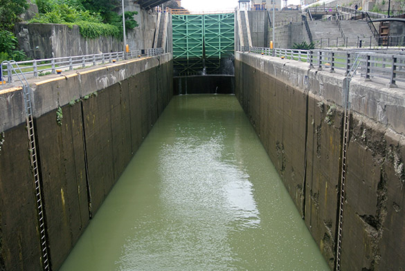6 Erie Canal Lock Lockport