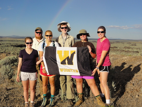 Team Utah proudly representing Wooster Geologists!