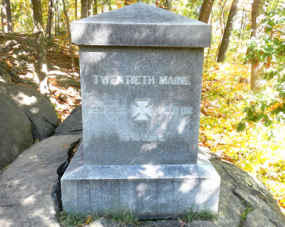 5 20th Maine monument 101215