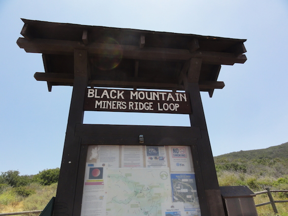 Black Mountain Open Space Park is a popular hiking and mountain biking destination.