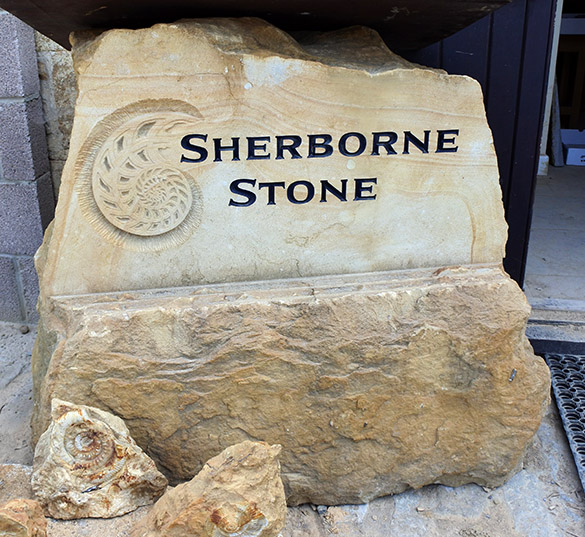 2 Sherborne Stone sign