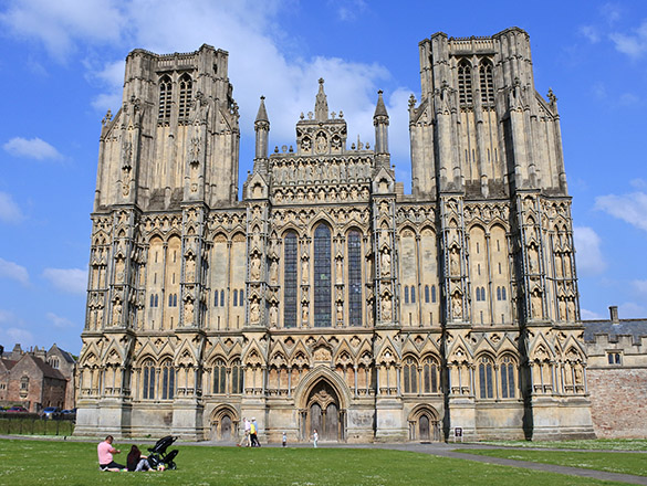 6 Wells Cathedral front