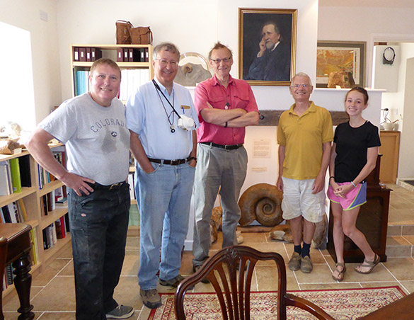 Crew in Whicher Museum