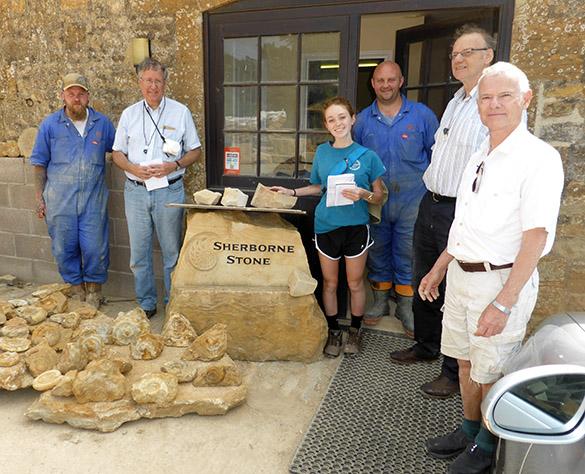 Sherborne Stone crew