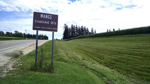 Wangs sign