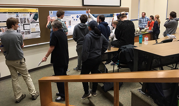 """Wooster Earth Scientists at their annual """"Mock GSA"""" — 2018 version 