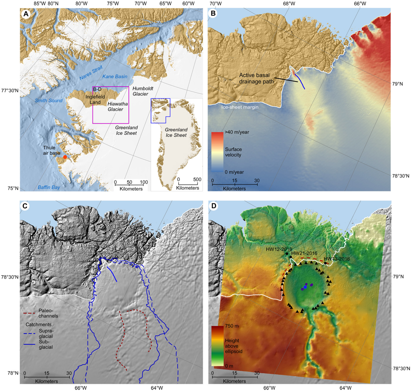 New Impact Crater Discovered Under Greenland | Wooster